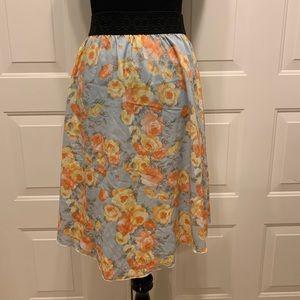 NWOT LulaRoe XL Lola Skirt 16 18